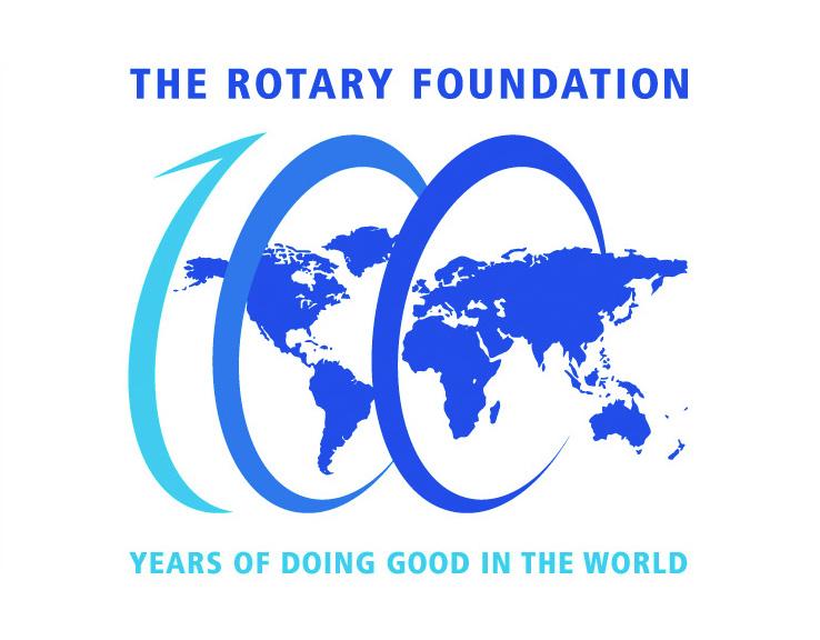 ロータリー財団100周年ロゴ